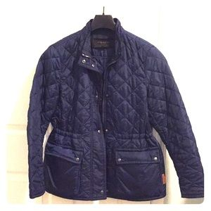 Coach diamond quilted jacket